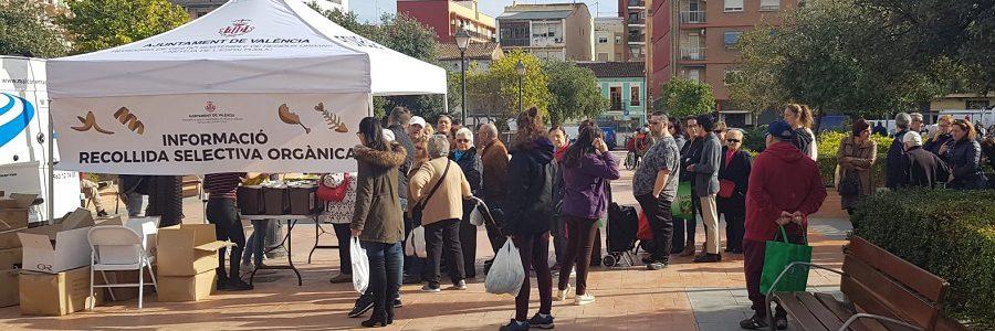 13.000 hogares de Valencia se suman a la recogida selectiva de materia orgánica