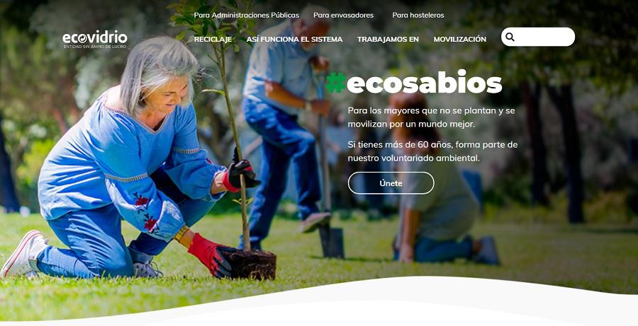 Ecovidrio lanza nueva web