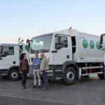 El Consorcio de Servicios de La Palma renueva su flota con cinco camiones recolectores