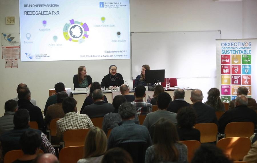 La Xunta presenta la red gallega de preparación para la reutilización
