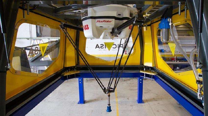 Un robot para separar el plástico de otros residuos
