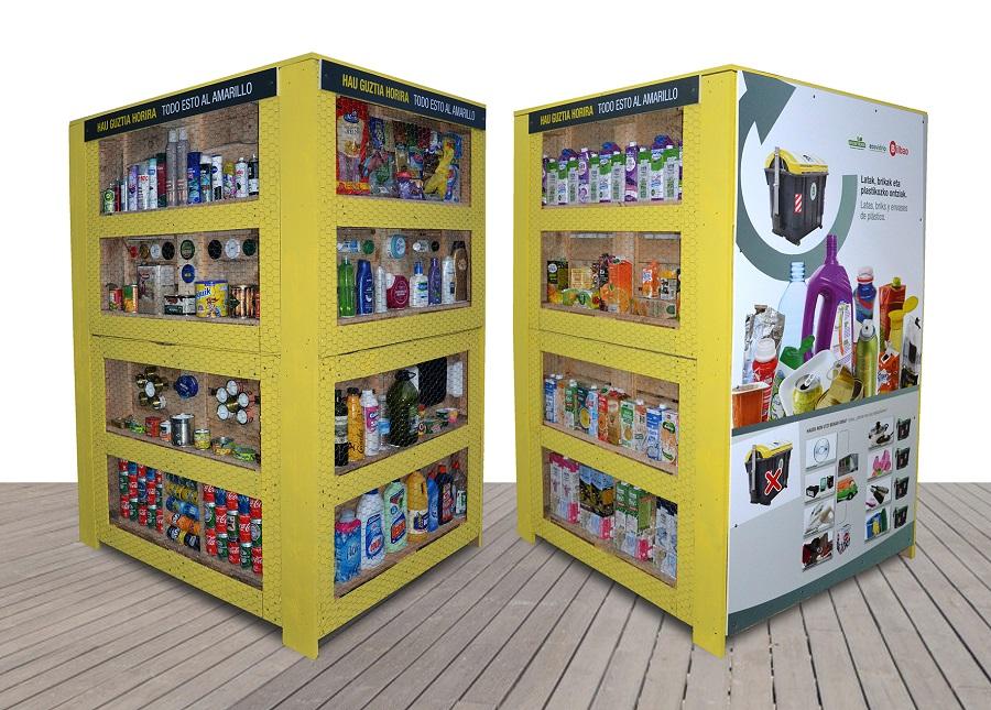 Nueva campaña de información sobre reciclaje en Bilbao