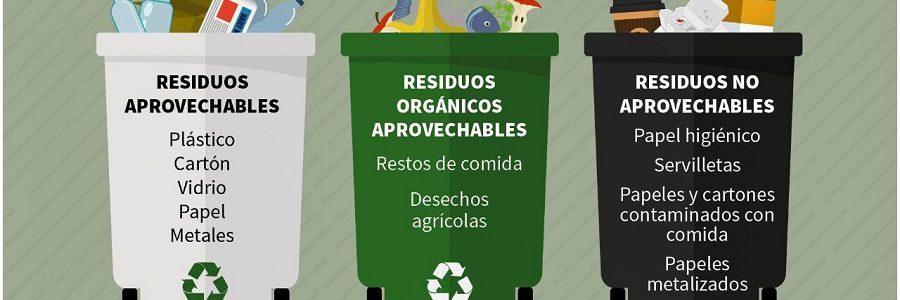 Colombia tendrá un código de colores para el reciclaje unificado en todo el país