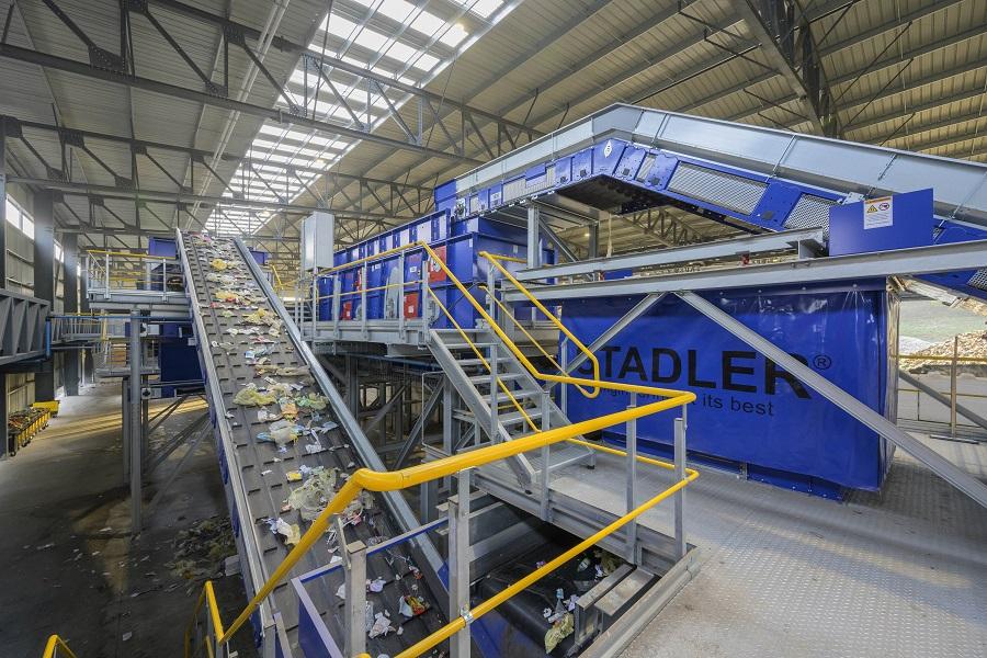 Nueva planta de reciclaje de STDLER para grupo Schroll