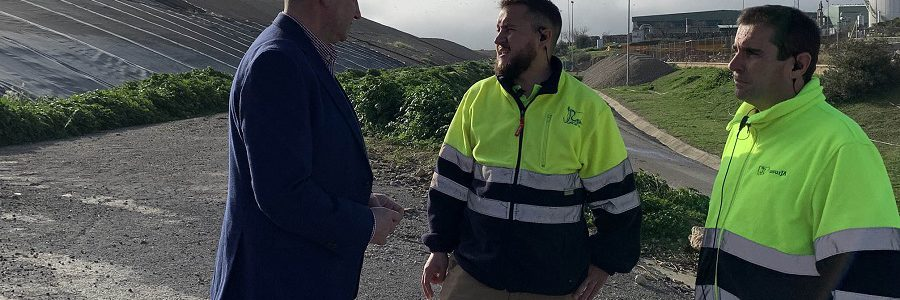 El biogás recuperado del vertedero de Jaén permitirá generar energía eléctrica para abastecer a 2.300 personas