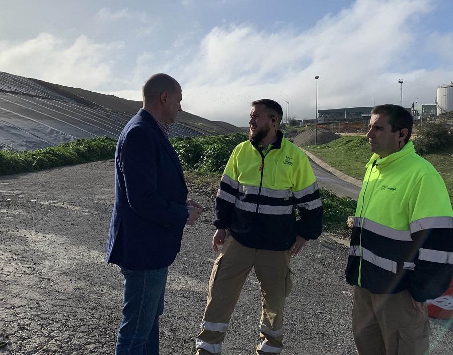 Proyecto para obtener biogás del vertedero de Jaén