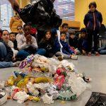 Una nueva campaña en Bizkaia mostrará a los estudiantes los residuos que generan en una semana