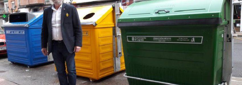 Logroño renueva su parque de contenedores de residuos urbanos
