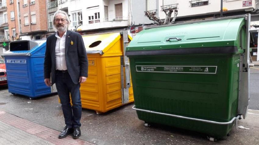 Nuevos contenedores de residuos en Logroño