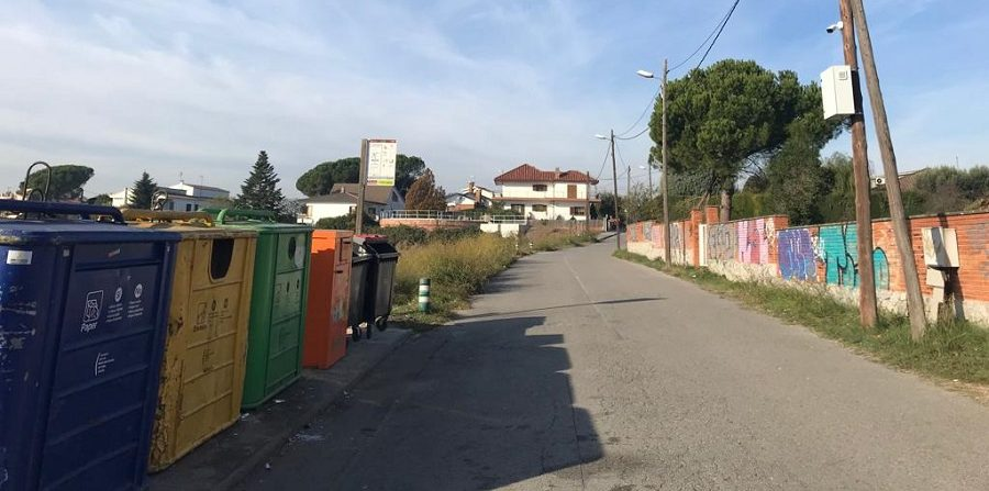 Multas por el vertido de residuos en Parets
