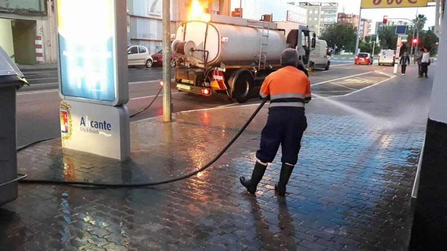 Nuevas inversiones para mejorar la limpieza de Alicante