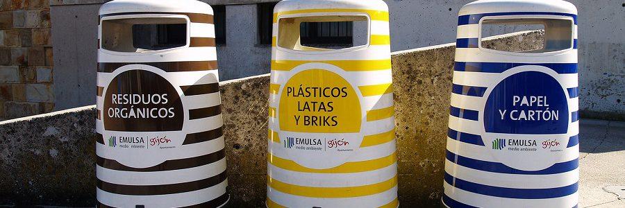 La recogida selectiva de residuos en Gijón alcanzó el 30% en 2019