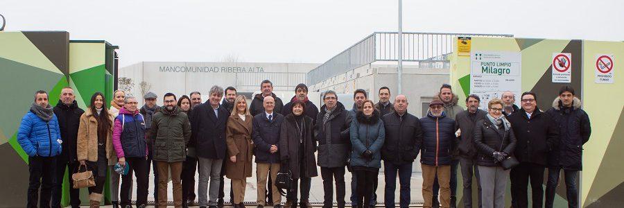 Inaugurados cinco nuevos puntos limpios en la Ribera Alta de Navarra