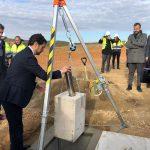 Colocada la primera piedra de la nueva planta de tratamiento de residuos del Segrià (Lleida)