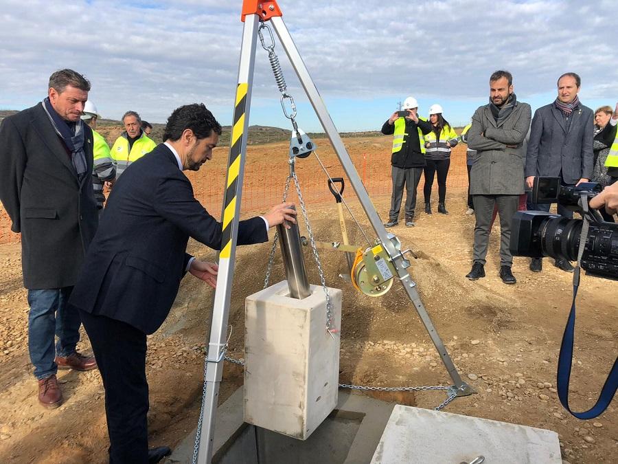 Primera piedra de la nueva planta de tratamiento de residuos del Segrià