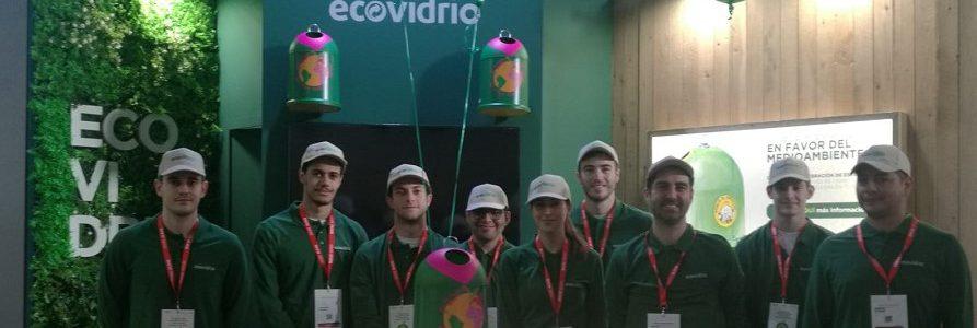 Ecovidrio recoge más de 18.000 botellas de vidrio para su posterior reciclado durante la Barcelona Wine Week