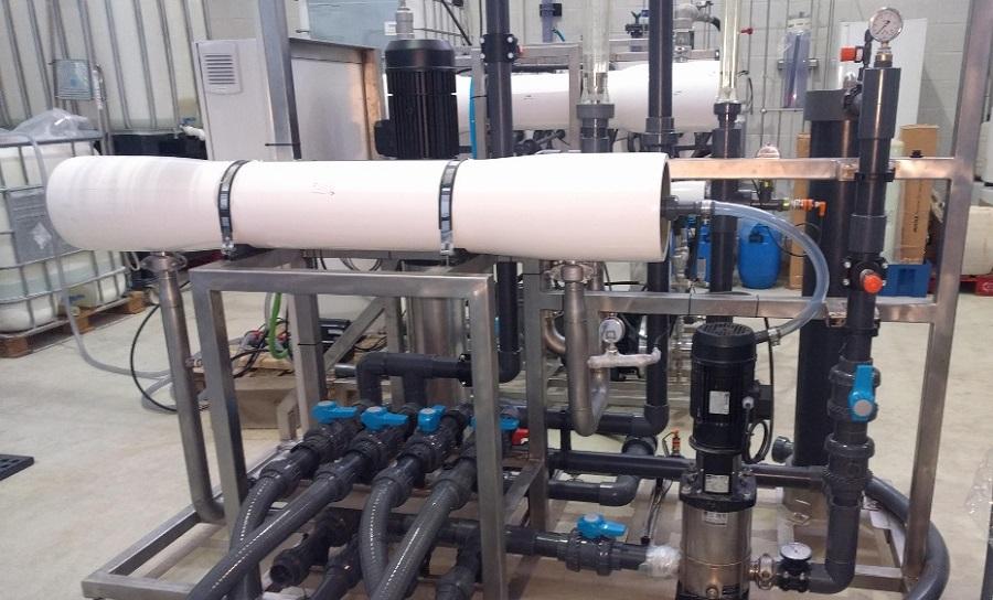 Reutilización de membranas para tratar lixiviados