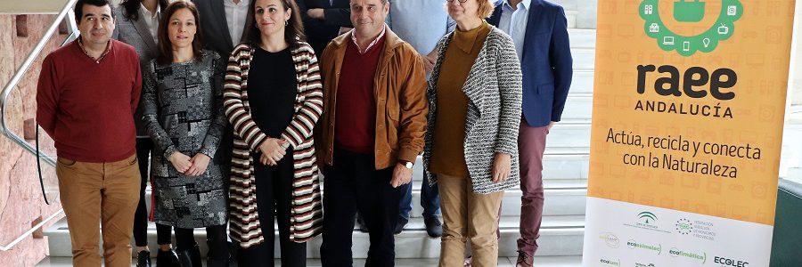 Más de 50.000 andaluces recibieron información sobre gestión de residuos electrónicos en 2019