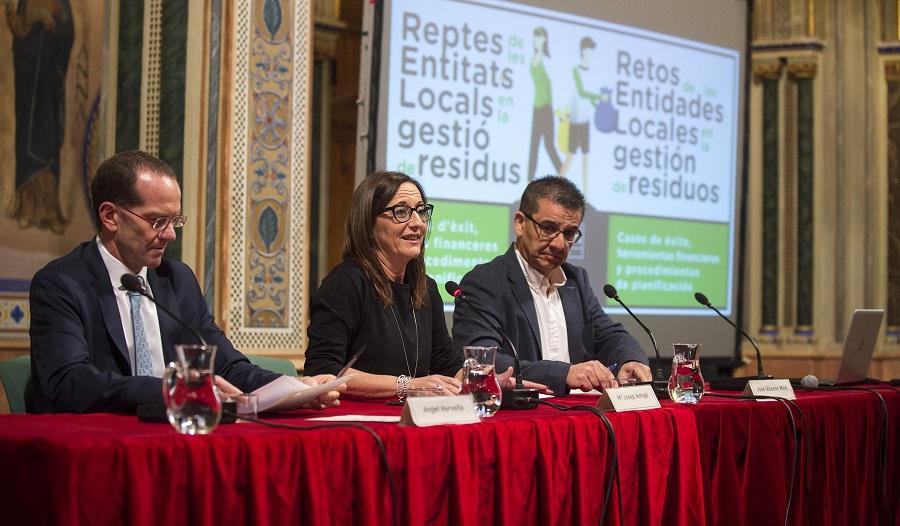 La Diputación de Valencia anuncia subvenciones a la redacción de planes locales de gestión de residuos