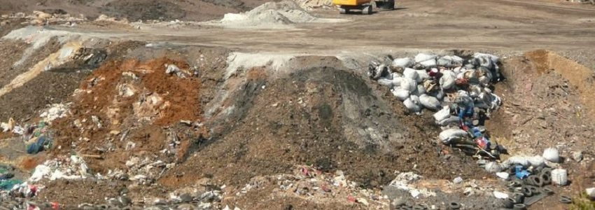Denuncian un posible tráfico ilegal de residuos peligrosos al vertedero de Nerva