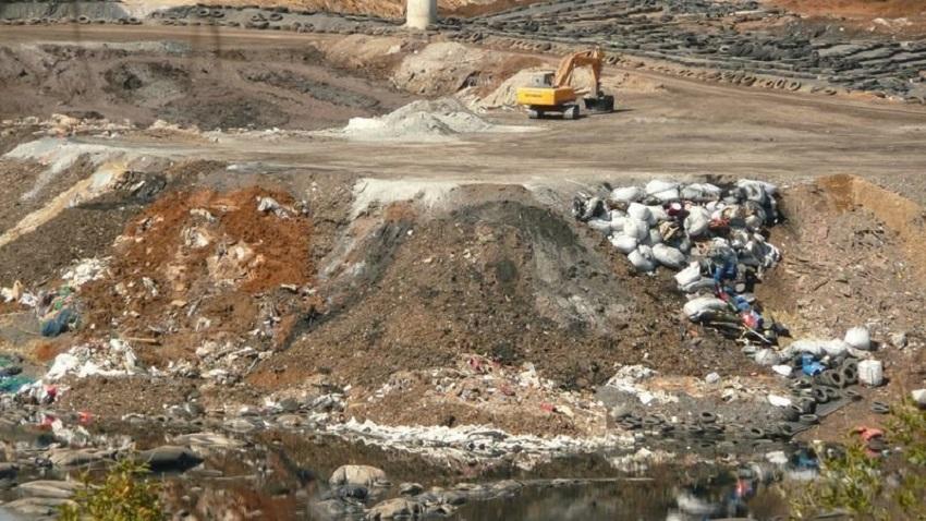 Reclaman que el vertedero de Nerva no acoja residuos de Zaldibar