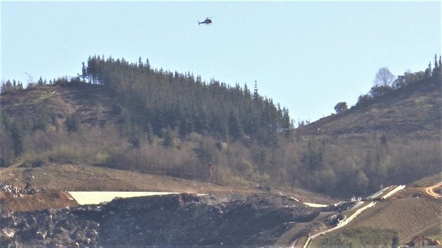 Los vertederos públicos de Bizkaia no acogerán los residuos que iban a Zaldibar