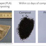 Los plásticos compostables se descomponen en menos de 22 días en procesos de compostaje industrial