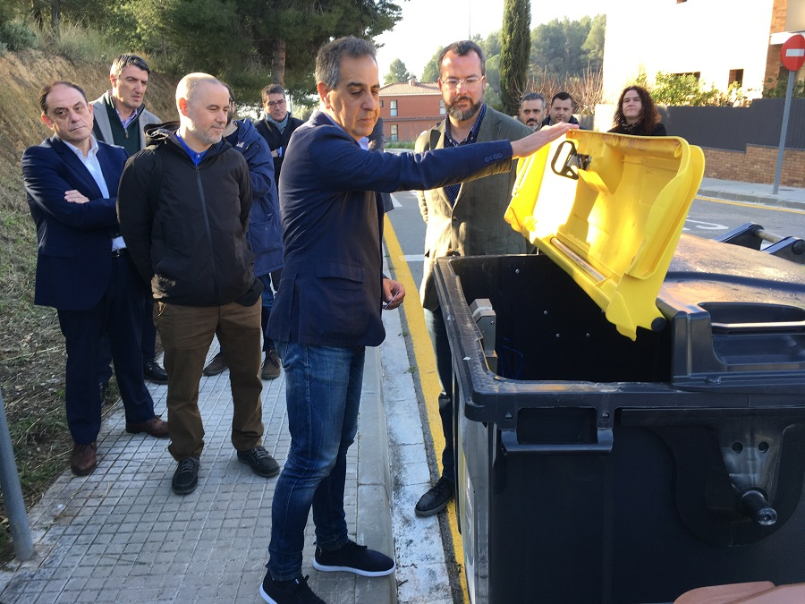 Mejora la recogida selectiva en el área metropolitana de barcelona