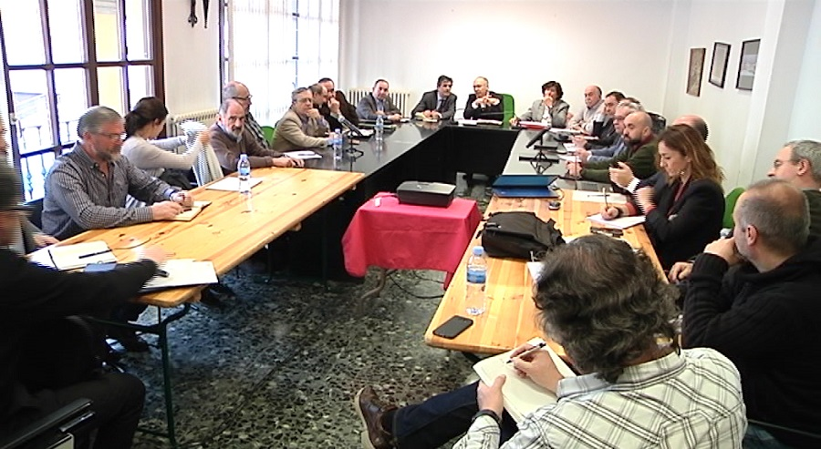 Reunión de la mesa técnica por el derrumbe del vertedero de Zaldibar