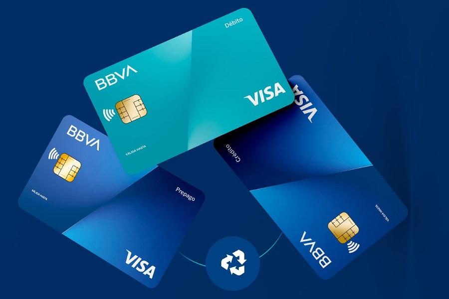 BBVA lanza una tarjeta de plástico reciclado