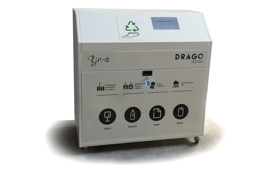 Drago comercializa el contenedor inteligente Bin-e