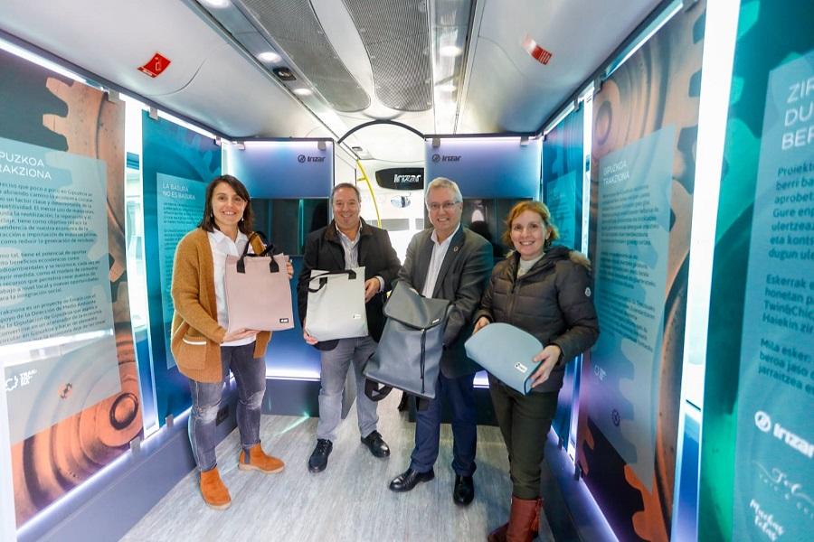 El proyecto Trakziona, un acelerador de la economía circular en Gipuzkoa
