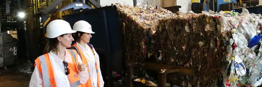 La planta de reciclaje de Granada permitirá reutilizar hasta el 80% de los plásticos