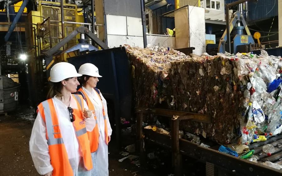 Mejoras en la planta de reciclaje de Granada para mejorar la calidad del material recuperado
