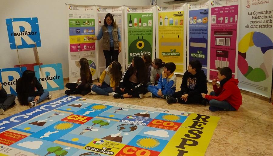 Talleres de reciclaje en la Comunitat Valenciana