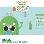 """Ecovidrio lanza la web """"Es Tiempo de reciclarse""""  para entretener a pequeños y mayores  mientras aprenden de reciclaje"""