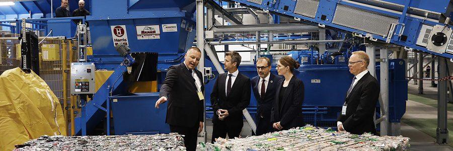 Inaugurada en Dinamarca la nueva planta automatizada de clasificación de envases de STADLER para Dansk Retursystem