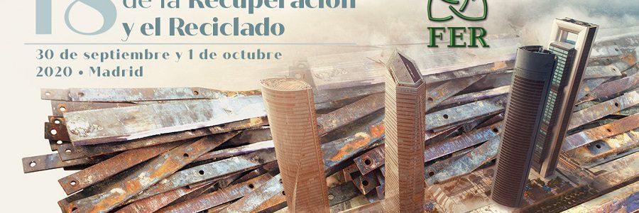 FER aplaza el 18º congreso nacional de la recuperación y el reciclado por el COVID-19