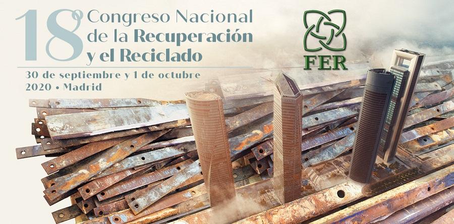 Aplazado el congreso de la recuperación y el reciclado por el coronavirus