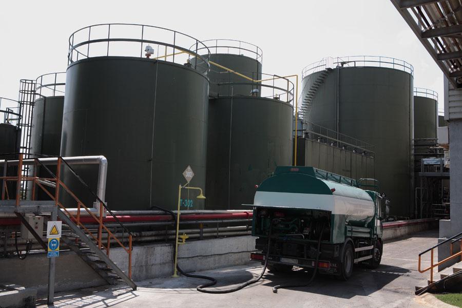 Datos de regeneración de aceite industrial usado en 2019