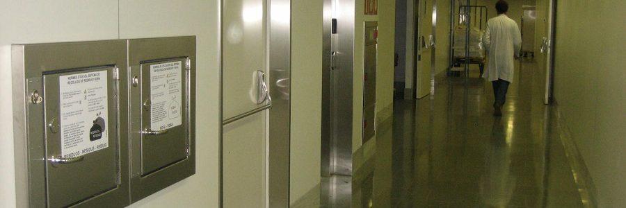 La recogida neumática de residuos, un aliado contra el COVID-19 en los hospitales