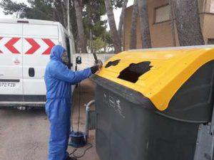 Ampliación de la boca de los contenedores de envases en Valencia