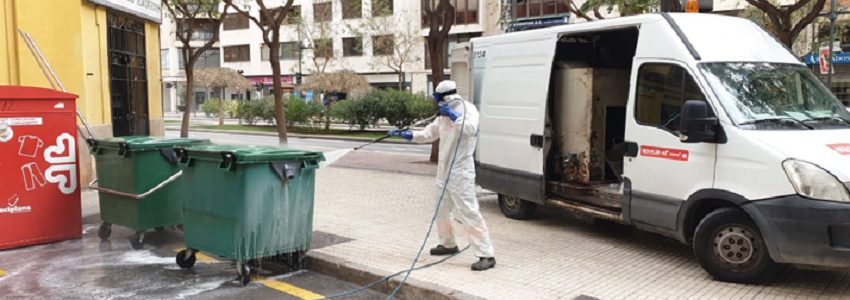 Castellón reduce la generación de residuos y aumenta el reciclaje durante el estado de alarma