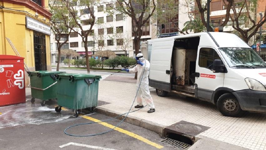 Castellón reduce residuos y aumenta el reciclaje durante el estado de alarma