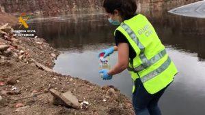 El SEPRONA detecta un vertido de residuos contaminados en Barcelona
