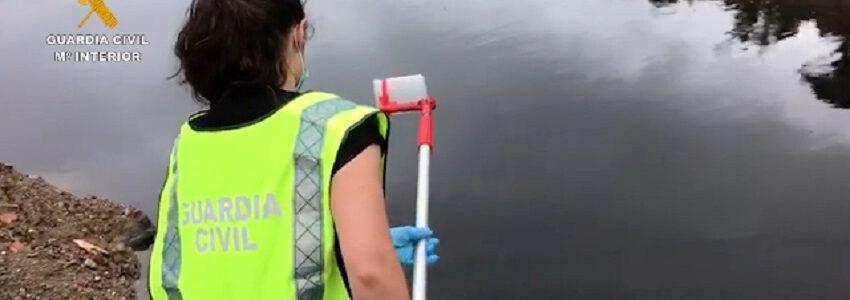La Guardia Civil detecta un vertido de residuos contaminados en Barcelona