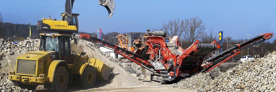 Cataluña obliga por ley a usar un mínimo de áridos reciclados en la construcción