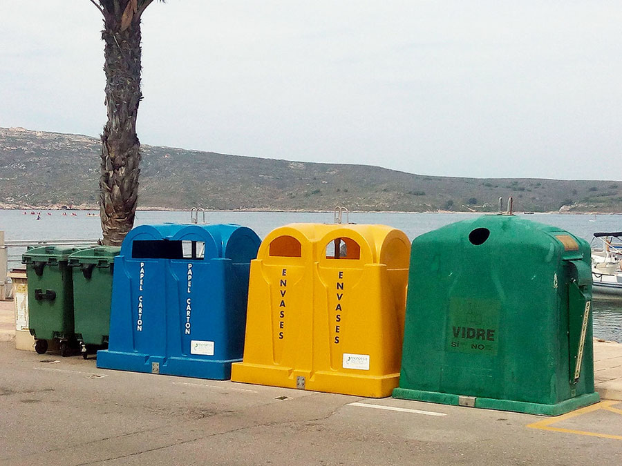 Baleares reduce la generación de residuos en el estado de alarma
