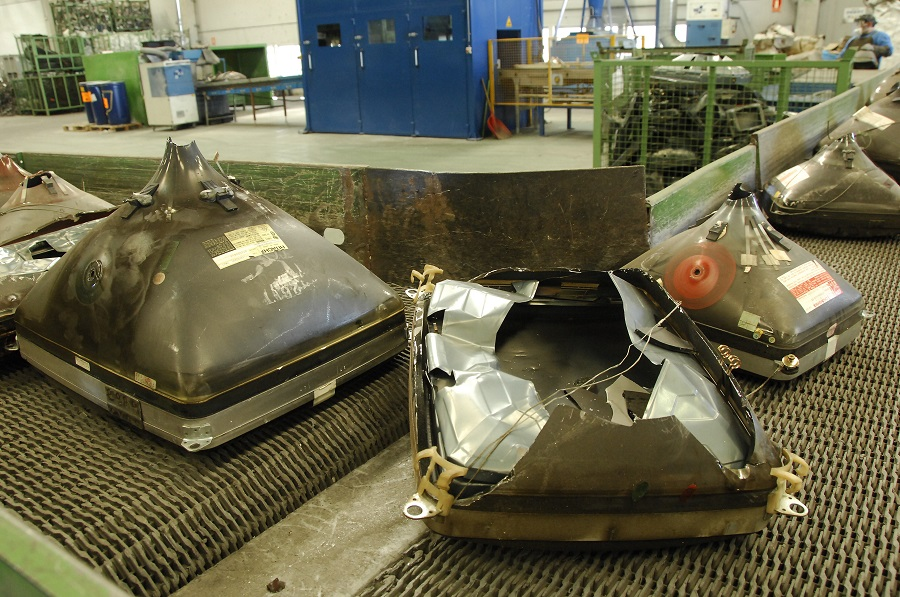 Recyclia mantiene una intensa actividad de recogida de residuos electrónicos pese al confinamiento