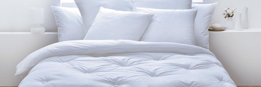 También la ropa de cama puede ser de plástico reciclado